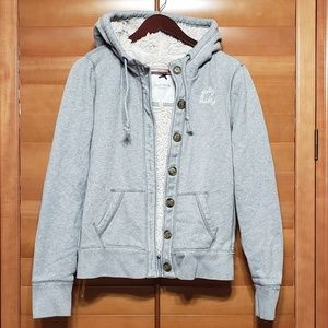 Gilly Hicks Sydney Gray Hoodie Sweater